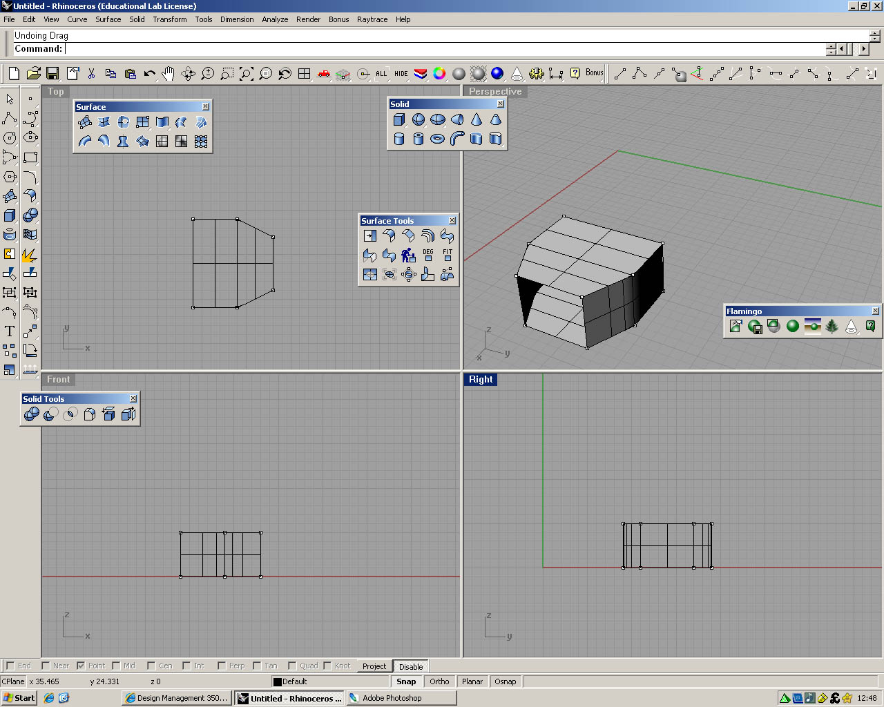 First attempt at drawing packaging in rhino 3d design management packaging first attempt baditri Choice Image